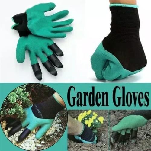 Foto Produk Garden Genie Gloves / sarung tangan kebun & taman dari yongzen shop