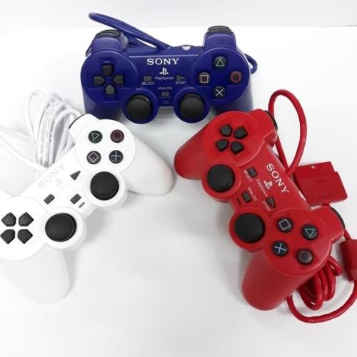 Foto Produk STIK PS2 ORI PABRIK WARNA STICK PS 2 ORIGINAL (OP) ELITE - Putih dari Netha Olshop