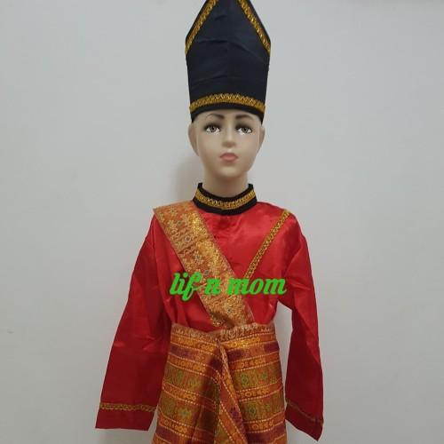 Foto Produk baju adat aceh anak laki tk dan sd tradisional dari lif n mom