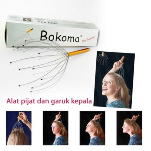 Foto Produk bokoma alat pijit kepala garuk kepala dari evencio shop