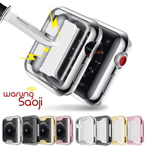 Foto Produk Softcase Screen protection Apple Watch case series 4 5 40 44 mm dari Warung Saoji