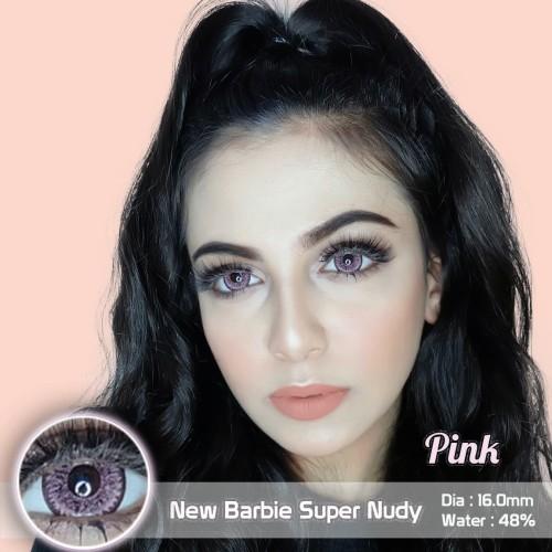 Foto Produk Softlens Barbie Eye Super Nudy Pink (Merah Muda) dari Geo Eyes