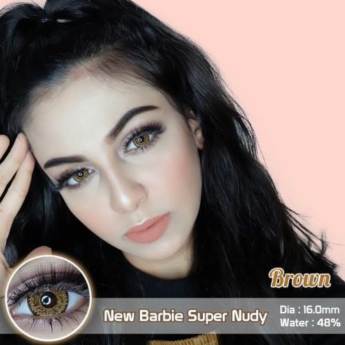 Foto Produk Softlens Barbie Eye Super Nudy Brown (Coklat) dari Geo Eyes