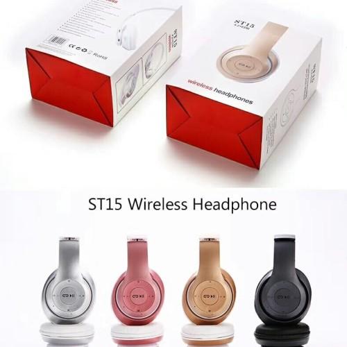 Foto Produk Headset Earphone Headphone Bluetooth Wireless Monster JBL STN15 STN-15 dari Jess grosir accessories