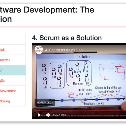Foto Produk Agile Software Development: The Introduction dari Agile Campus