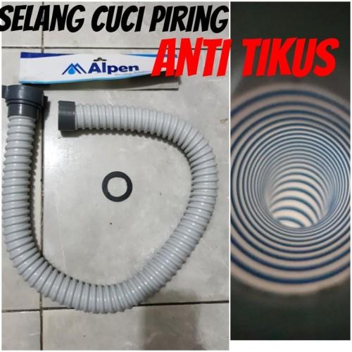 Foto Produk selang cuci piring tebal 90cm alpen ANTI TIKUS dari Cahaya Berkat90