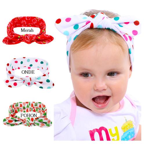 Foto Produk Headband Bayi / Headband Anak / Bando Bayi Lucu - Merah dari M&K ( Mom & Kids)