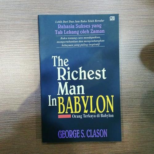 Foto Produk Buku The Richest Man In Babylon - George S. Clason - Orang Terkaya dari smileshop77