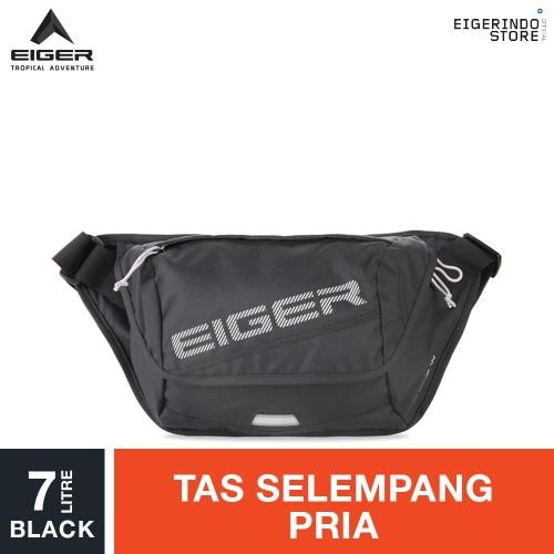 Foto Produk Eiger Alpine W Waist Cross Sling Bag 7L - Black dari Eigerindo Store