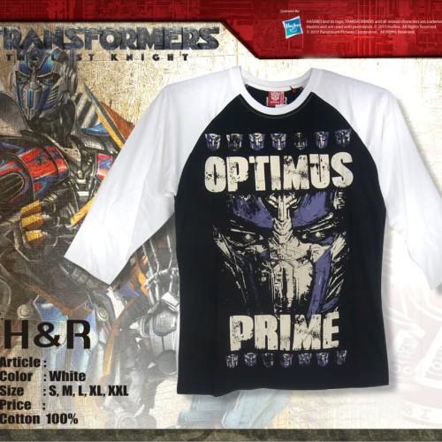 Foto Produk H&R - T-Shirt Transformer Optimus – 3312N - Putih, S dari H&R Official Store