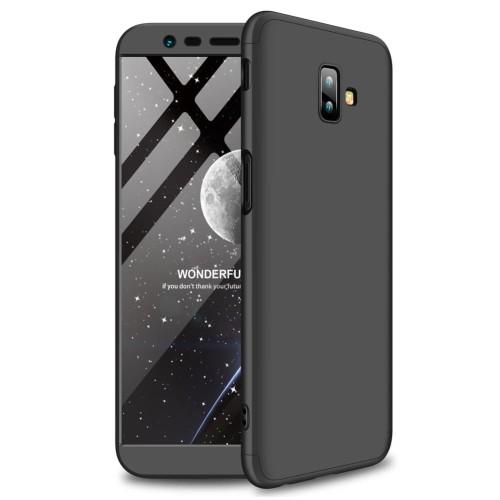 Foto Produk Samsung galaxy J6 plus / j6 prime 360 protection slim matte case - Hitam dari importking