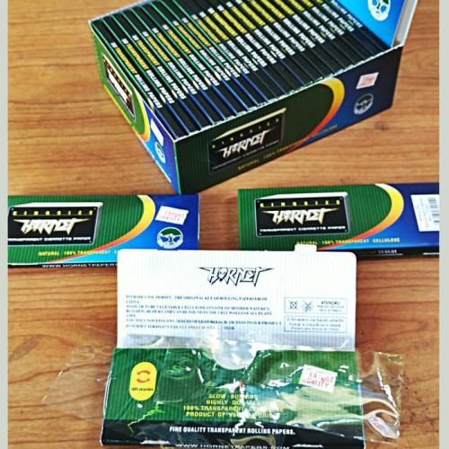 Foto Produk Jual rolling paper hornet transparan + tbk strawberry mint 3gr dari T.Dynamite