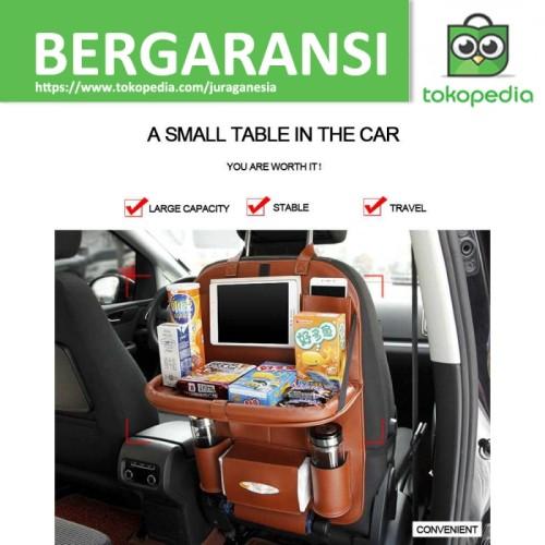 Foto Produk Tas Gantung Kursi Belakang Mobil Backseat Organizer dengan Meja C3727 dari JURAGANESIA