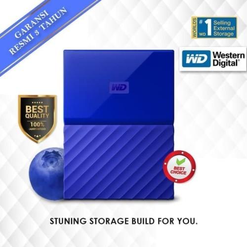 Foto Produk WD My Passport 4TB - HDD - HD - Hardisk - Harddisk External 2.5 dari Bintang Jaya Komputer