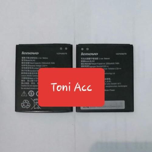 Foto Produk Batre / Batrai / Battery / Baterai Lenovo Ori 99% A6000 / BL-242 dari ToniAccessoris