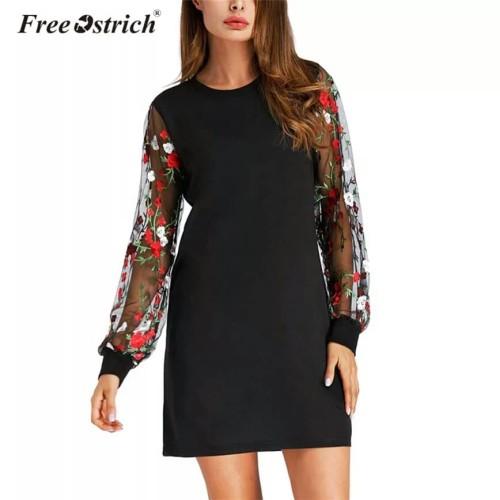 Foto Produk Floral Embroidery Dress dari delicia boutique