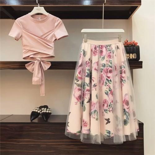 Foto Produk Tops Vintage Floral Skirt Sets dari delicia boutique