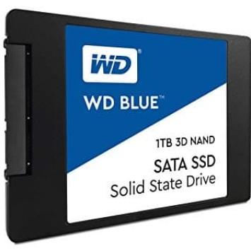 """Foto Produk WD SSD BLUE 1TB / 2.5"""" SATA 7mm SSD / 3D NAND SSD / 5 years warranty dari @Kiosk"""