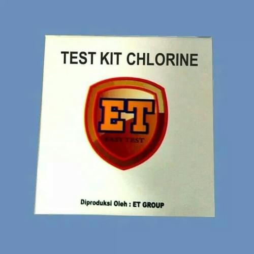 Foto Produk Test Kit Chlorine - Tes Uji Cepat Klorin - Testkit / Teskit Mutu ET dari Sooper Shop