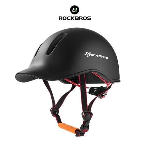 Foto Produk ROCKBROS TT-13 Urban City Bike EPS Helmet - Helm Sepeda - BLACK dari Rockbros Indonesia