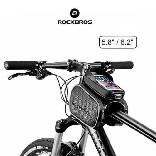 Foto Produk ROCKBROS ZH009 MTB Bike Top Frame Pannier Waterproof Bag dari Rockbros Indonesia