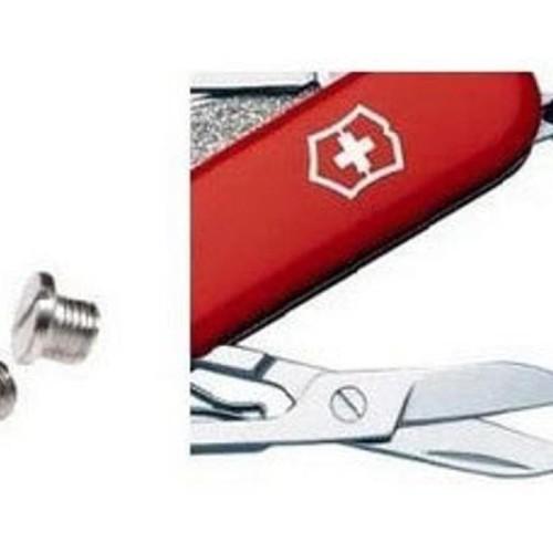 Foto Produk VICTORINOX SPARE PART - Small Scissors Screw Replacemen Berkualitas dari Nandi Sakha