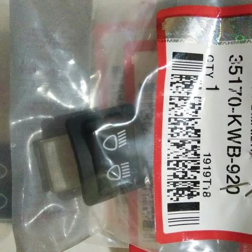 Foto Produk tombol saklar dim lampu supra 125 kharisma smash original ahm dari manis motor