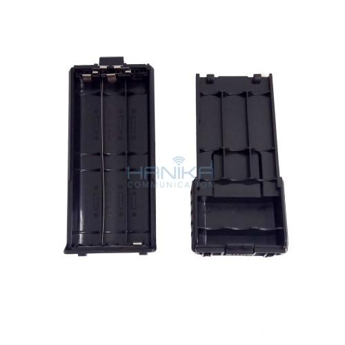 Foto Produk Kotak Baterai Baofeng UV5R HT UV5RA UV5RE Battery Case Handie Talkie dari Hanika Radio