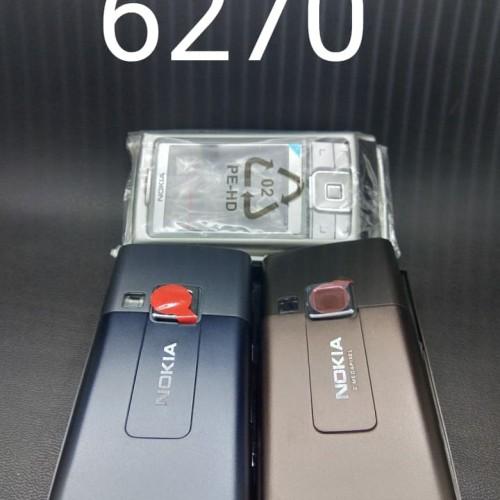 Foto Produk Casing Nokia 6270 Slide Stainless Fullset Original Cina dari Bonekaauni