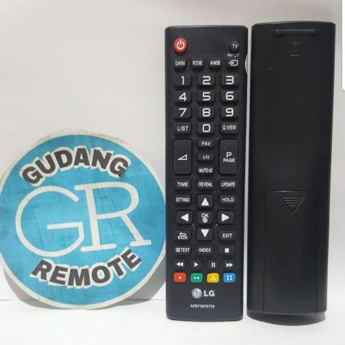 Foto Produk Remote Remot TV LG LCD/LED/Plasma AKB Series dari gudang remot