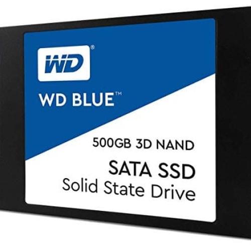"""Foto Produk WD SSD BLUE 500GB / 2.5"""" SATA 7mm SSD / 3D NAND SSD / 5 years warranty dari @Kiosk"""