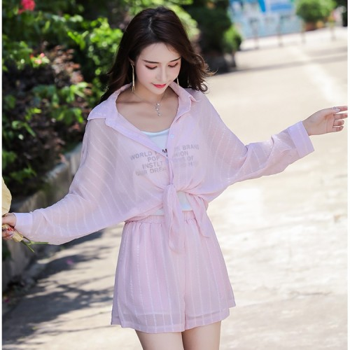 Foto Produk Baju Setelan Wanita Pink Sunny Set (S) Import Original dari Fashion-21