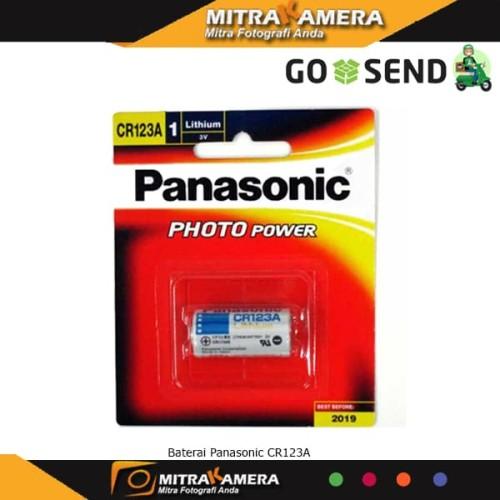 Foto Produk Baterai Panasonic CR123A - Hitam dari mitrakamera