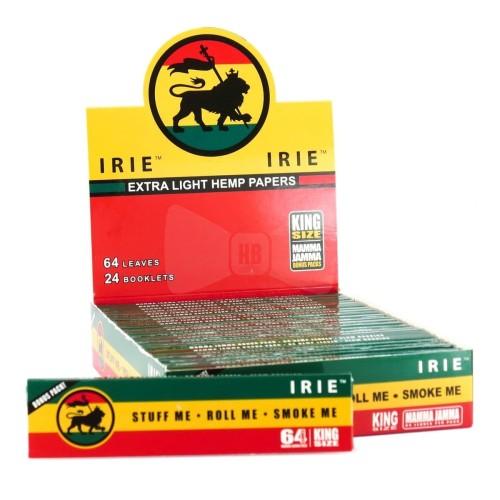 Foto Produk Jual Rolling paper Irie Hemp + Tbk strawberry Mint 3gr dari T.Dynamite