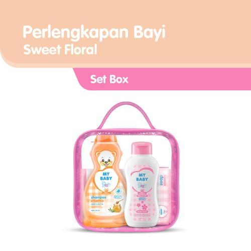 Foto Produk My Baby Set Perlengkapan Bayi - Sweet Floral Pink dari Tempo Store Official