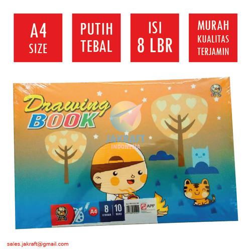 Foto Produk Buku Gambar Anak A4 Isi 10 Putih Polos Kuramas Murah Berkualitas dari Jakraft Indonesia