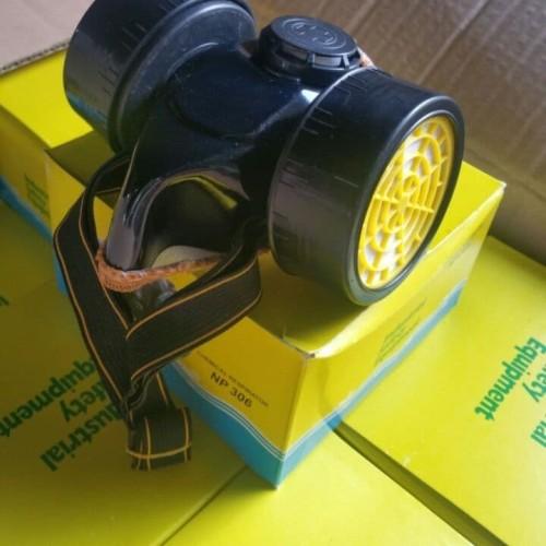 Foto Produk Masker Obat Tabung Double Ganda Chemical Respirator Kabut Asap Cat dll dari Fastpro
