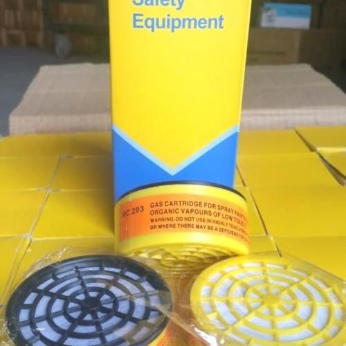 Foto Produk Obat Masker Tabung Carbon Filter Chemical Respirator Refill Isi Ulang dari Fastpro