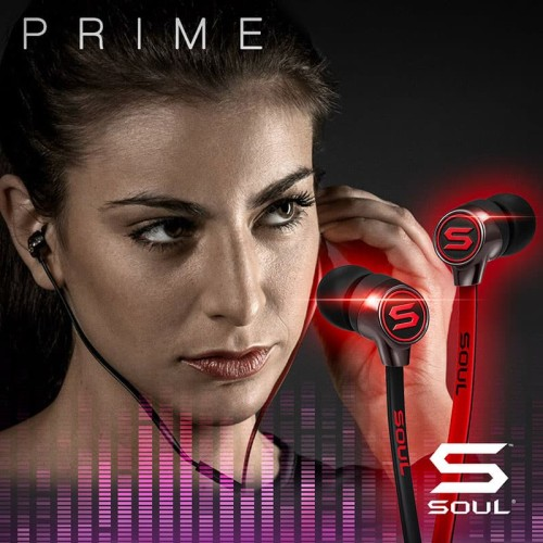 Foto Produk Soul Prime Mini Optimal Acoustics In-Ear Headphone - Merah dari Soul official
