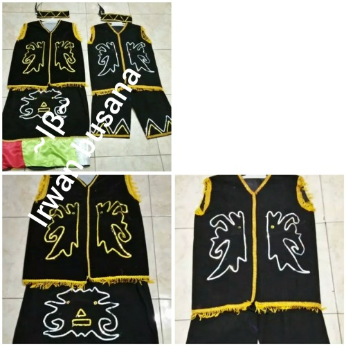 Foto Produk Baju adat kalimantan // baju dayak anak SMP dari Irwan busana