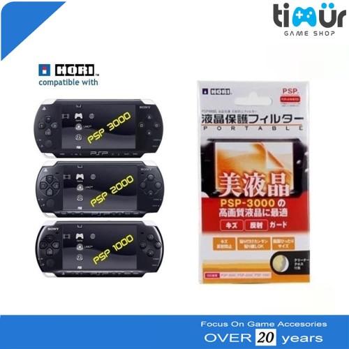 Foto Produk Anti Gores Screen Guard untuk PSP Slim Fat 1000 2000 3000 HORI dari Timur Game Shop