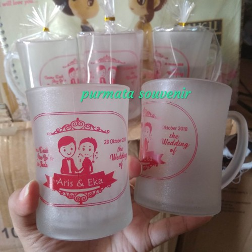 Foto Produk Souvenir gelas CL/souvenir gelas/souvenir murah/souvenir Jakarta dari purmata souvenir