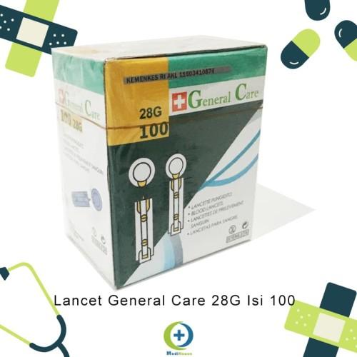 Foto Produk Jarum Lancet General Care 28G isi 100 dari medihouse