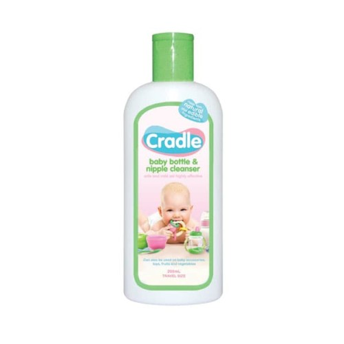 Foto Produk Cradle Baby Bottle and Nipple Cleanser bottle 200ml dari Yen's Baby & Kid Official Shop