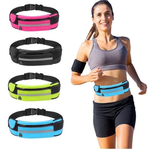 Foto Produk running belt waterproof - tas pinggang olahraga - go belt tas olahraga dari Navy Shops