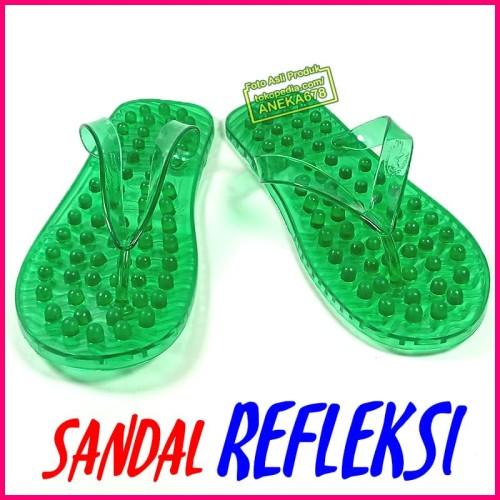 Foto Produk Sandal Jepit REFLEKSI Terapi Pijat Kesehatan Akupuntur Kaki Buaya dari ANEKA 678