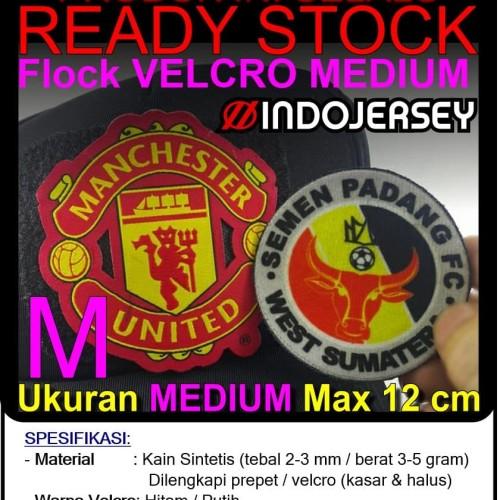 Foto Produk Patch Emblem Custom Logo VELCRO MEDIUM (alternatif Bordir / Woven) dari Indojersey Official Store