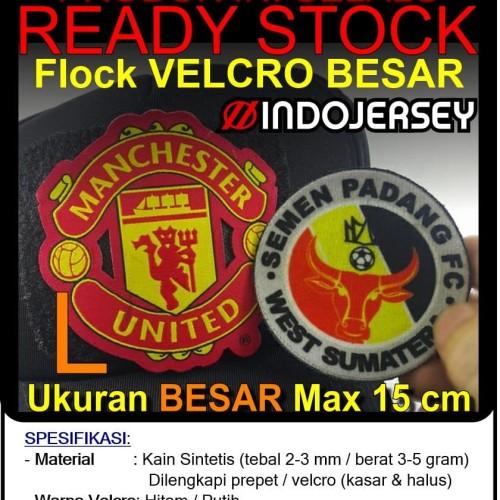 Foto Produk Patch Emblem Custom Logo VELCRO BESAR (alternatif Bordir / Woven) dari Indojersey Official Store