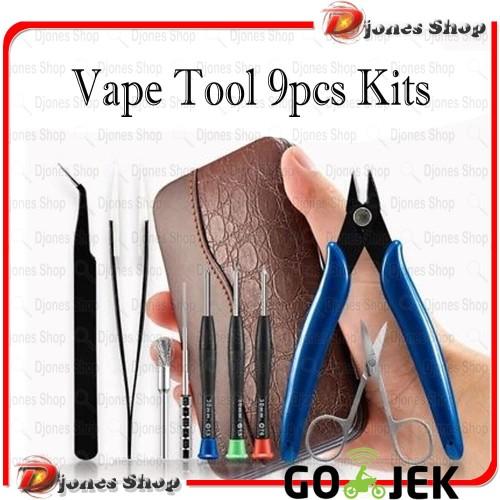 Foto Produk Vapswarm Mini Vape Tool Kit Bag - Coil Master Vapswarm 9 in 1 TS SALE dari Djones Shop