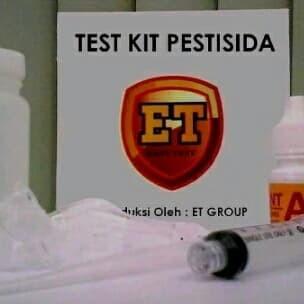Foto Produk Test Kit Pestisida - Alat tes uji cepat / testkit / teskit Makanan ET dari Toko Brawi JAYA